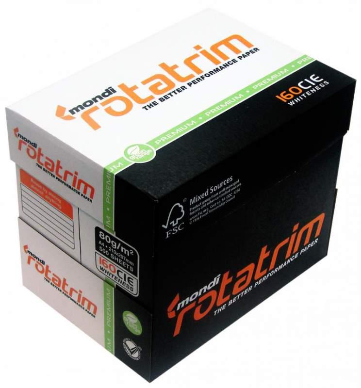 Buy Mondi Rotatrim copy paper A4 80gsm, 75gsm, 70gsm