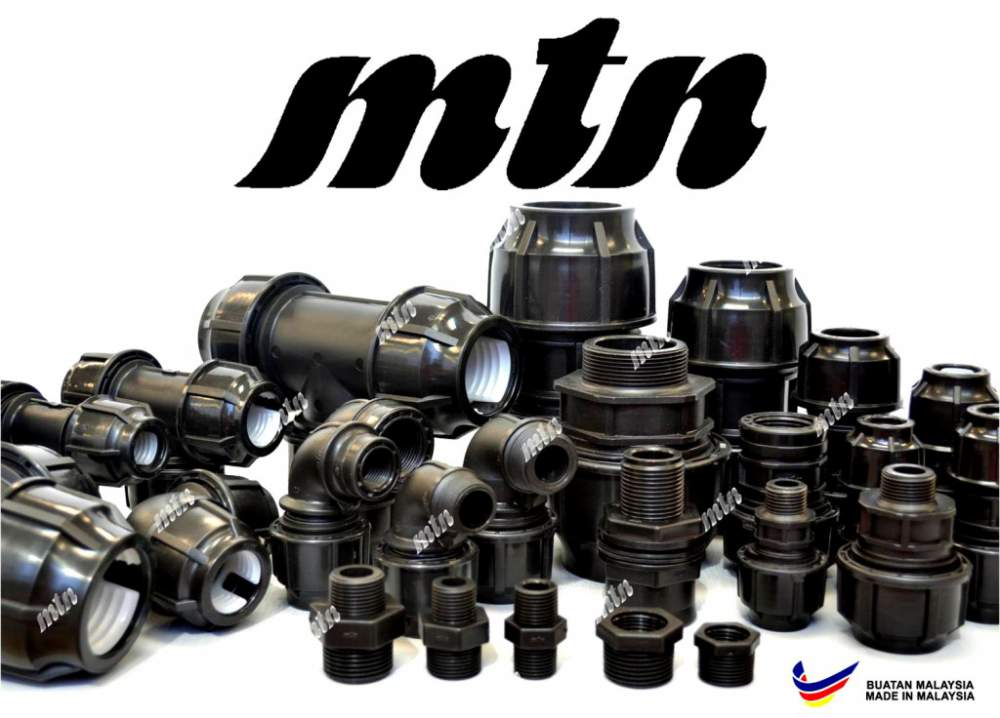 Buy MTN PP Compression Fittings