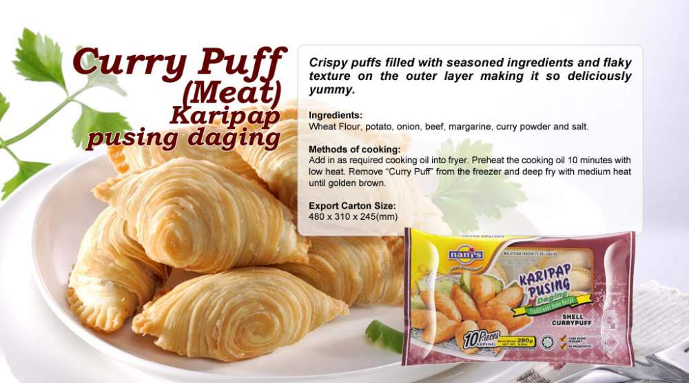 Buy Curry Puff (Meat) Karipap Pusing Daging