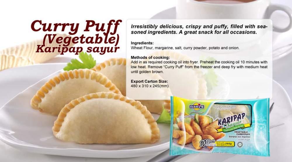 Buy Curry Puff (Vege) Karipap Sayur