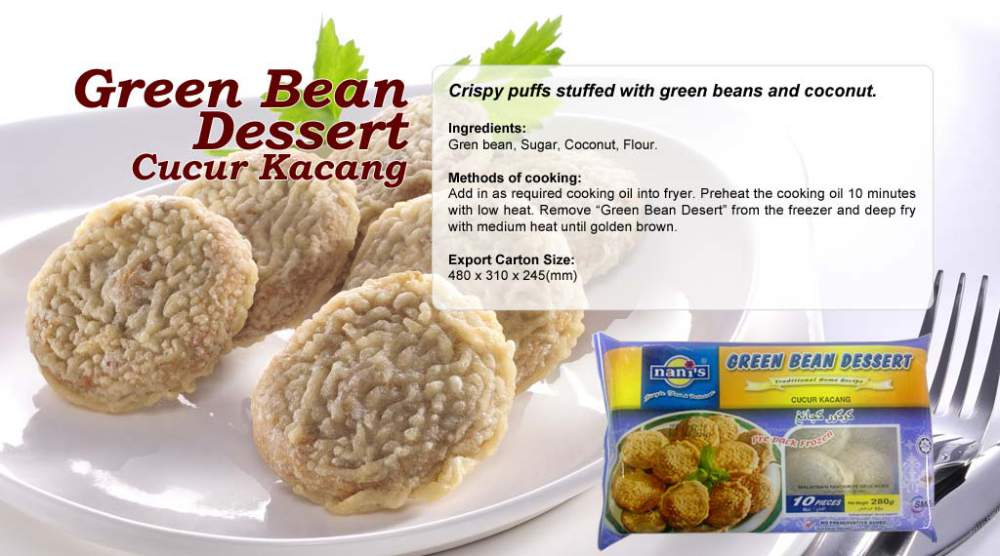 Buy Green Bean Dessert Cucur Kacang