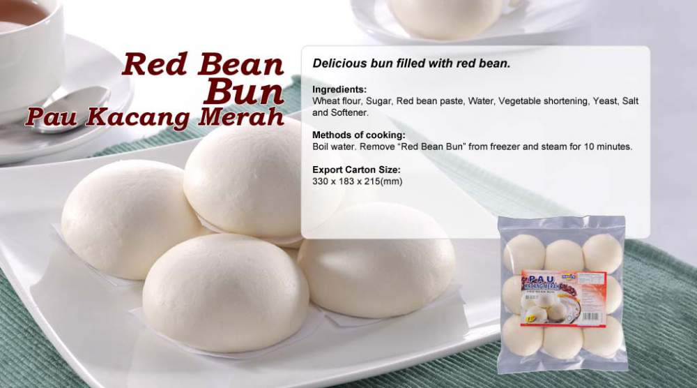 Buy Red Bean Bun Pau Kacang Merah