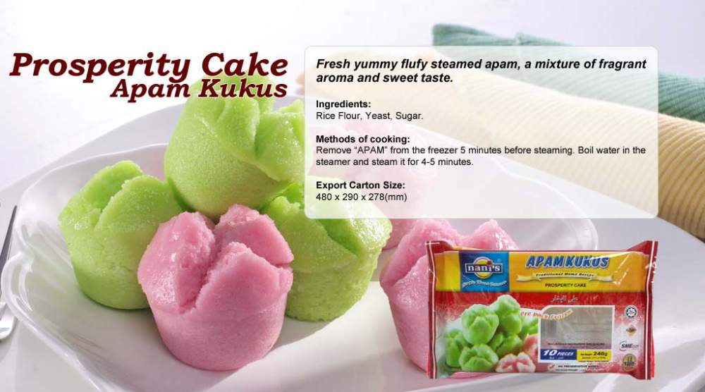 Buy Prosperity Cake Apam Kukus