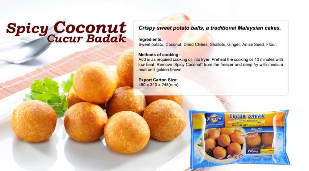Buy Spicy Coconut Cucur Badak