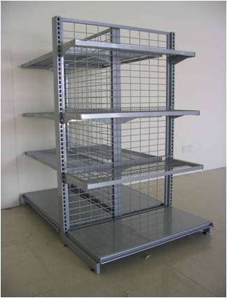 Buy Supermarket shelves Netting Wire Shelf Rack