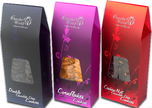 Buy Handmade cookies:- Double Chocolate Chips, Cornflakes & Cashew Nut Chocolate Chips (250gm)