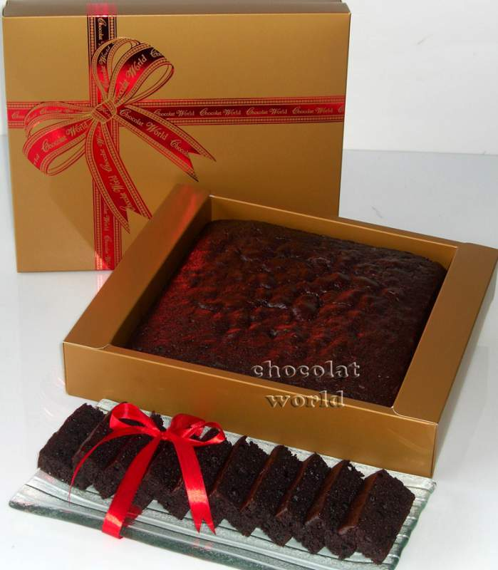 Buy Moist Chocolate Cake- Rich, moist & studded with Belgian Chocolate Chips (1kg)
