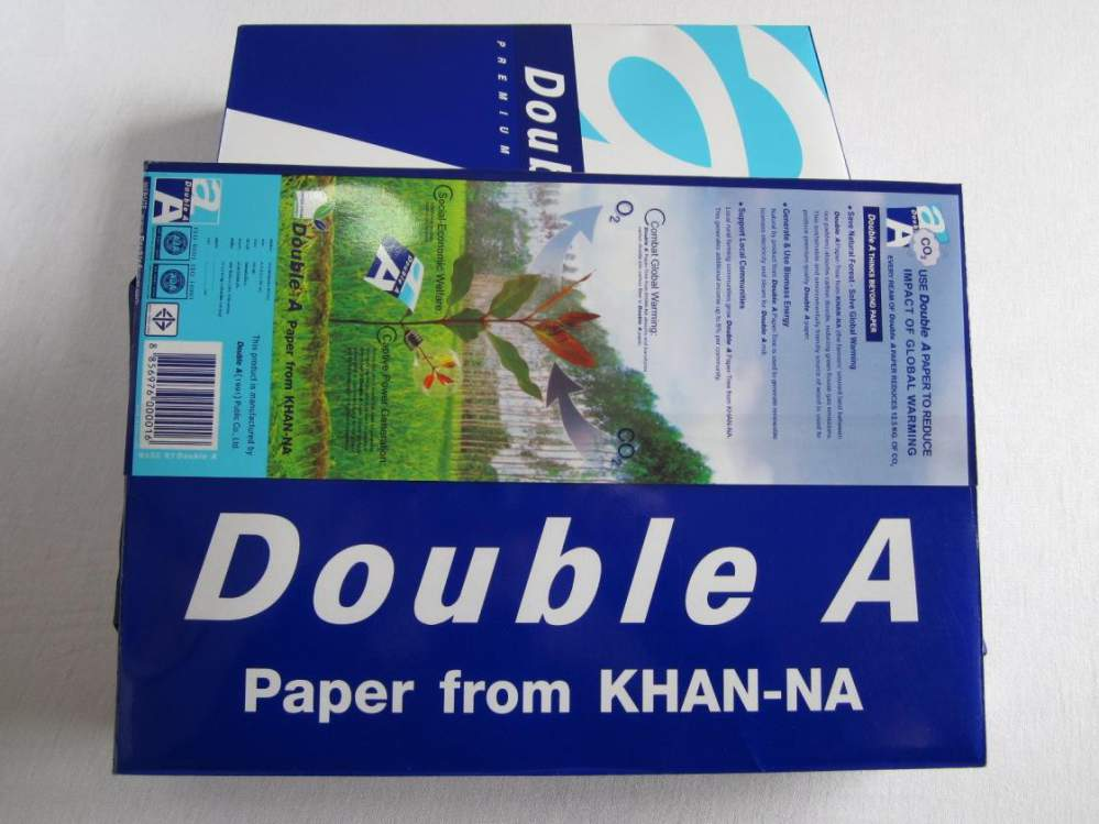 Double A A3 & A4 80gsm,75gsm,70gsm office copy paper