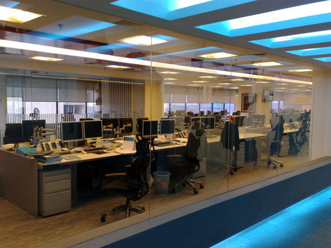 Buy Computer Room Glass Partition
