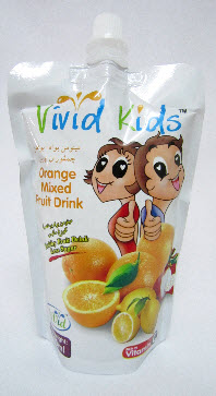 Buy Vivid Kids Fruit Drink- Orange