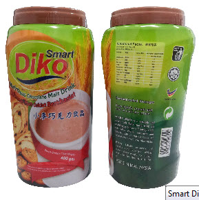 Buy Smart Diko Chocolate Malt Drink PP Bottle