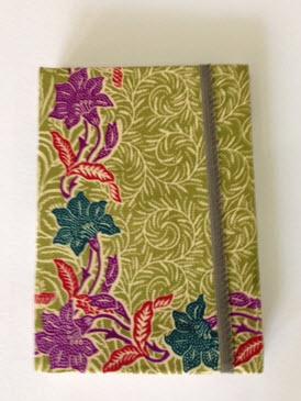 Buy Handmade Floral Batik Notebook