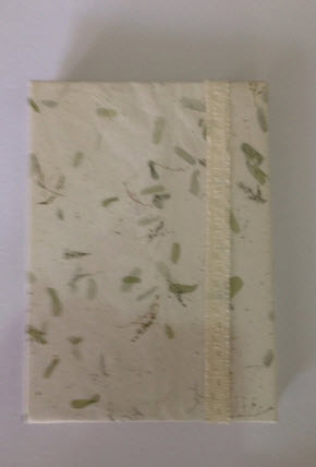 Buy Handmade Recycle Texture (Green) Notebook