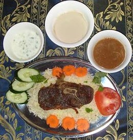 Mandy (Arab Rice) Lamb
