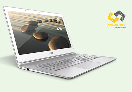 Aspire Ultrabook s7 Aspire S7-391-53334g12aws