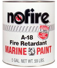 NoFire Fire Retardant Marine Paint