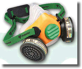 Buy Respiratory Protection - Half Face Mask with Twin Filter