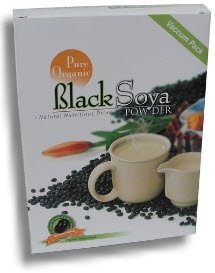 Pure Organic Black Soya Powder