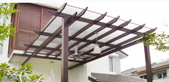 Buy POLYROOF Timber Pergola