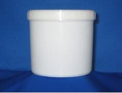 Buy J444 1kg ROUND CONTAINER C/W CAP