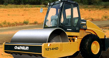 Vibrating Roller YZ14HD