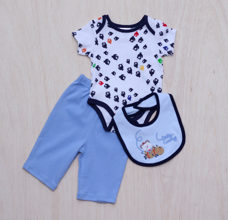 Buy Pemborong Pakaian Bayi dan Kanak Kanak Blue Elephant / Wholesale Baby and Children Clothing Blue Elephant Dress Romper