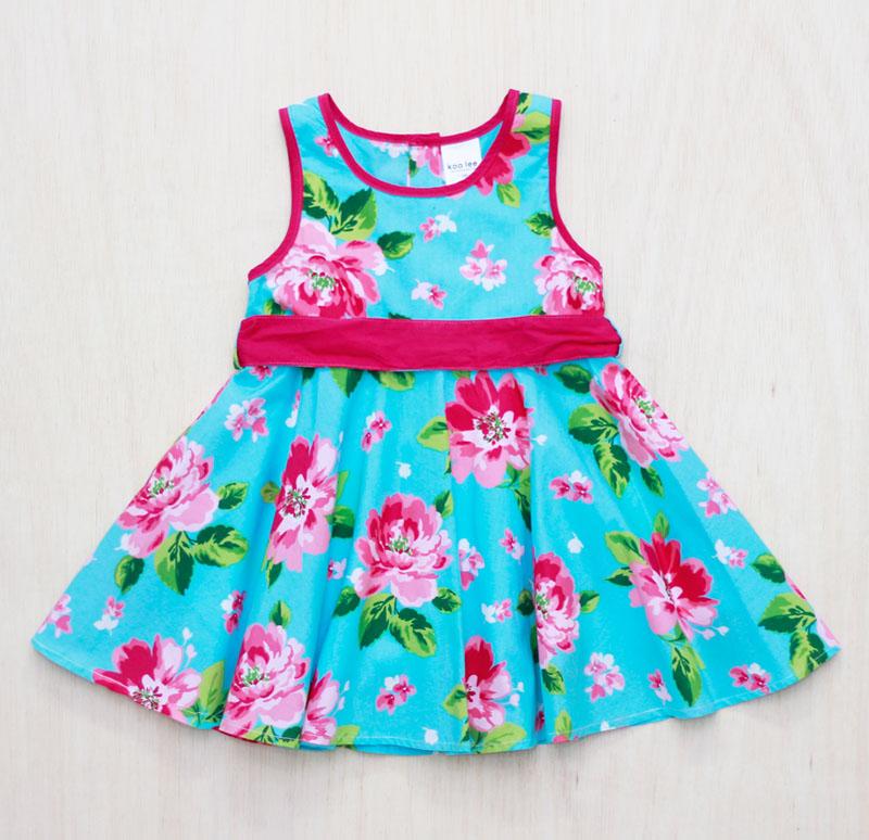 Buy Pemborong Pakaian Bayi dan Kanak Kanak Blue Elephant / Wholesale Baby and Children Clothing Blue Elephant Dress