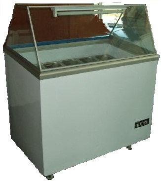 Buy Sliding Glass Door Chest Freezer c/w Glass Canopy