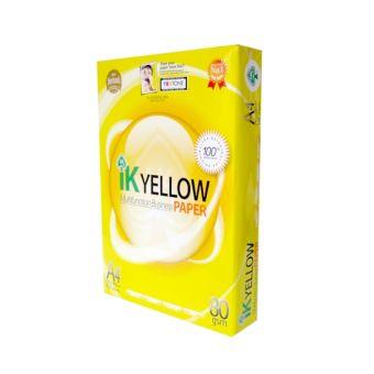 Buy IK Yellow A4 Copy Paper 80gsm/75gsm/70gsm