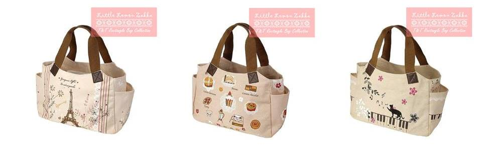 Buy T&T Japanese Handmade Canvas Tote Bag (Rectangular size & B4)