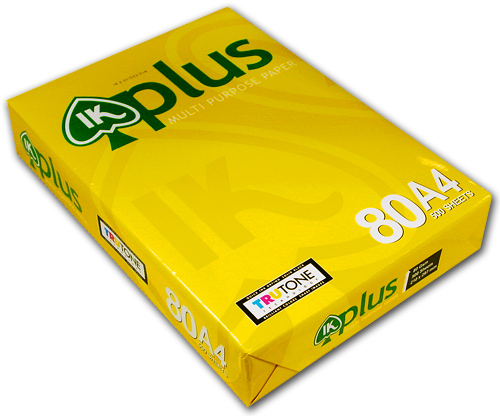 Buy IK Plus A4 Copy Paper 80gsm/75gsm/70gsm