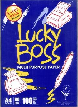 Buy Lucky boss A4 copy paper 80gsm/75gsm/70gsm