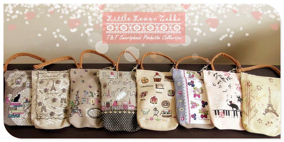 Buy T&T Japanese Handmade Canvas Hand pouchette