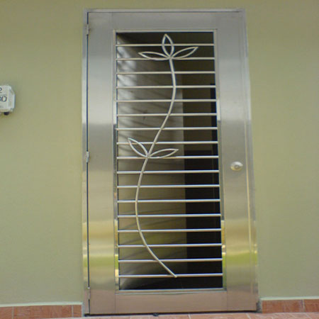 Stainless Steel Doors And Window