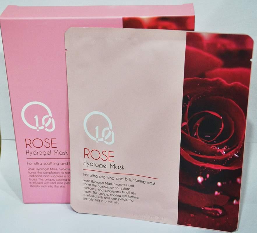 Buy O10 Rose Hydrogel Mask