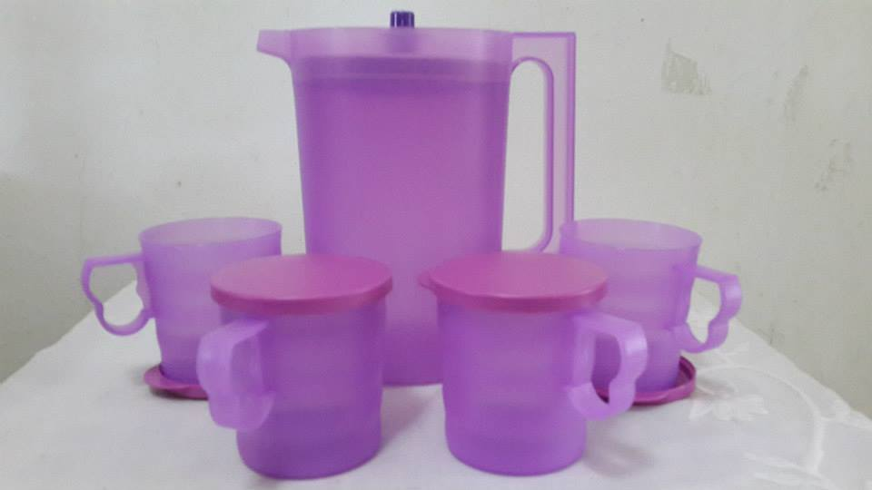 Tupperware - Lavender Set