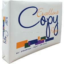 Buy Excellent A4 Copy Paper 80gsm/75gsm/70gsm