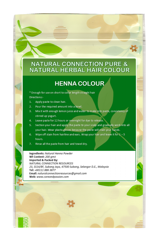 Buy Natural Connection Henna Hair Colour