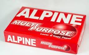 Buy Alpine A4 Copy Paper 80gsm/75gsm/70gsm