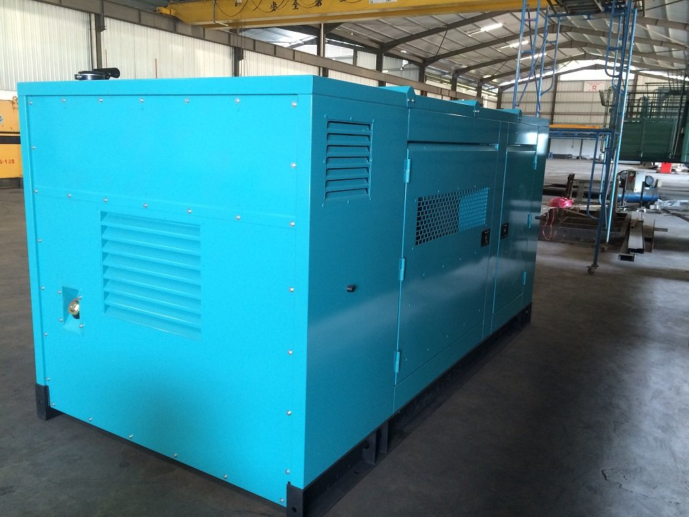 Silent genset canopy