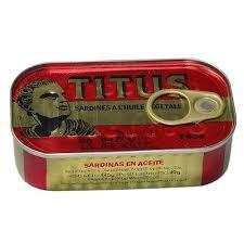 Buy Titus Sardines 125g