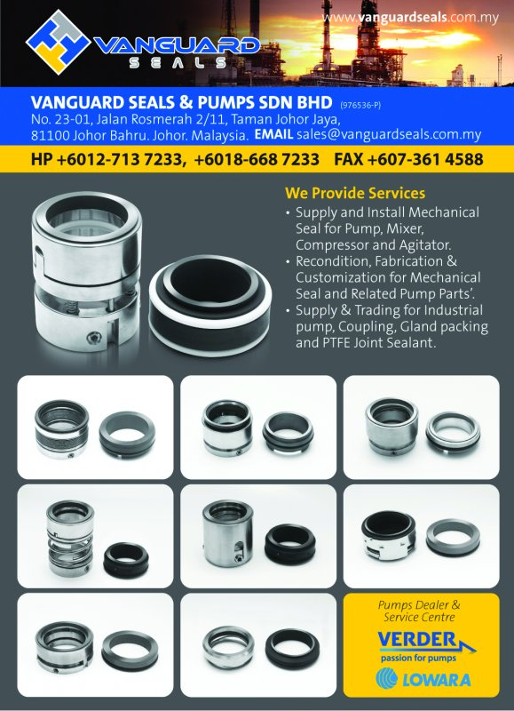 Buy Mechanical seal, Pump Service and repair.