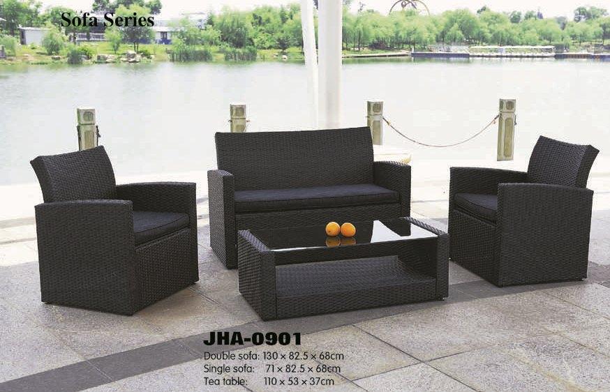 Buy Wicker outdoor sofa set