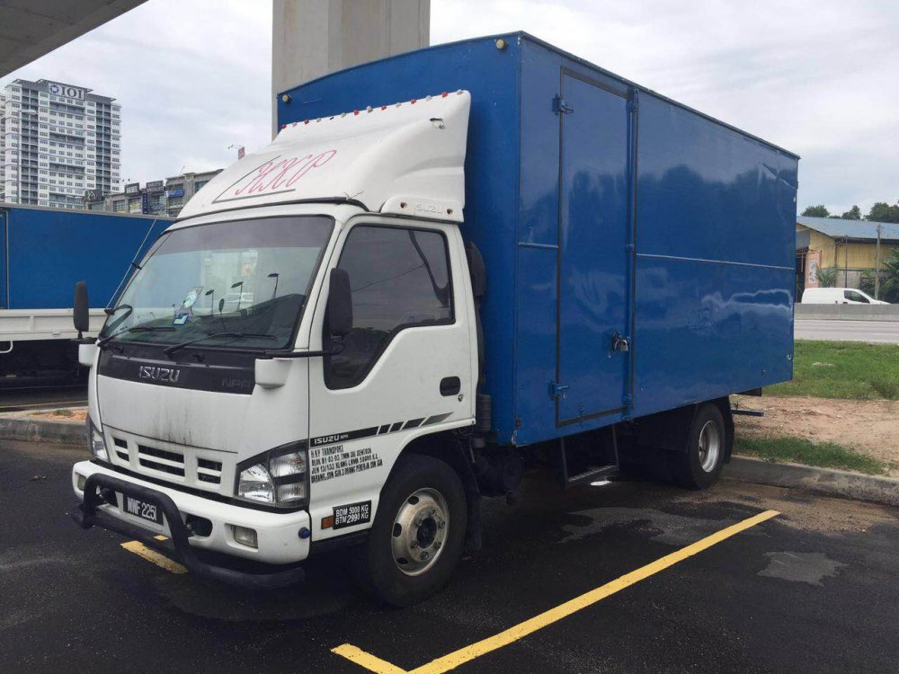 Buy Second Hand Isuzu 3 Ton Box Van 2012