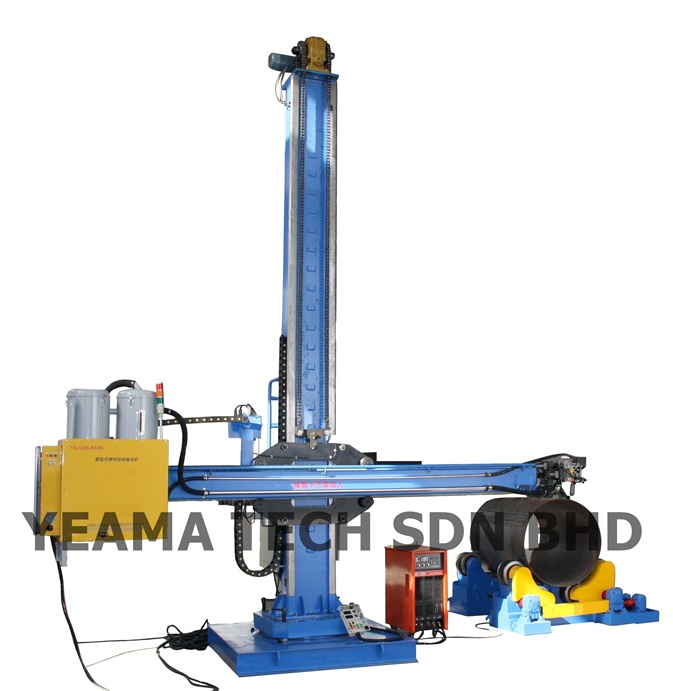 Buy Automatic Welding Column Boom With Operator Seat