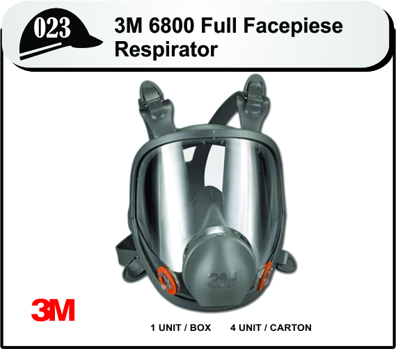 Buy 3M 6800 FULL FACE PIECE REUSABLE RESPIRATOR