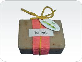 Buy Natural Handmade Soap - Turmeric Herb