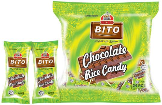 Buy Bito Chocolate Rice Candy