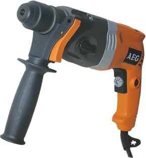 AEG 650W 22mm SDS Plus Rotery Hammer MC-BS22E