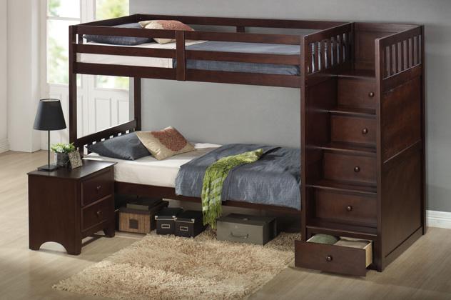 Двухъярусные кровати фото купить